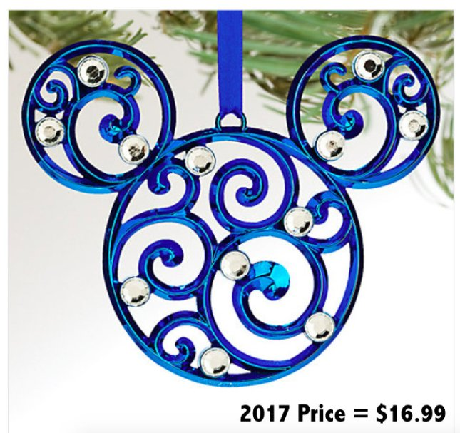 Disney Christmas decoration prices