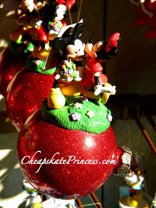 Mickey Minnie Mouse Christmas, Mickey Minnie ornament