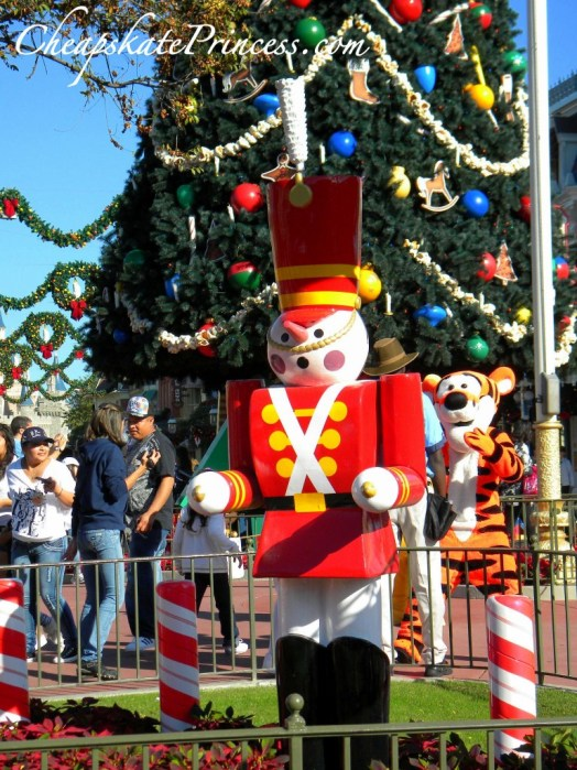 Toy Soldier at Disney World, Toy Soldier, Christmas toy soldier, Main Street toy soldier