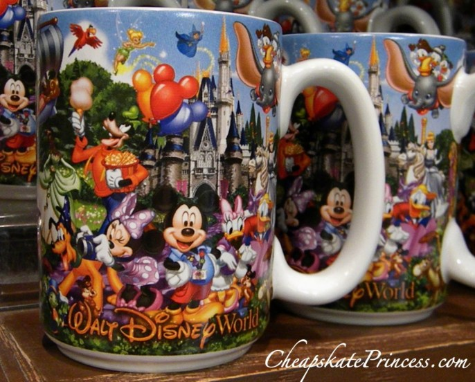 Walt Disney World coffee mug, Disney mug, Mickey Mouse mug, coffee mug, I drink coffee, Starbucks coffee at Disney World