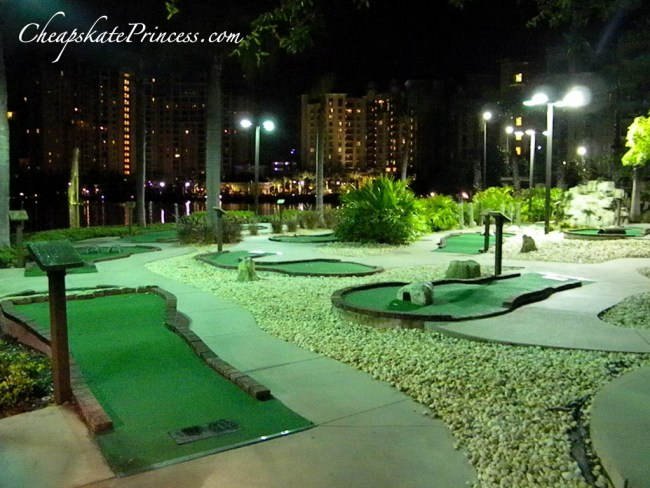 Bonnet Creek mini-golf, Bonnet Creek resort golf,