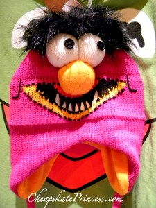 Muppets, Muppets winter hat, winter hat, kid's winter hat, kid's Disney hat, Disney merchandise, Animal, Muppets animal