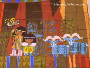 Disney art work, Mary Blair art work, Mary Blair biography