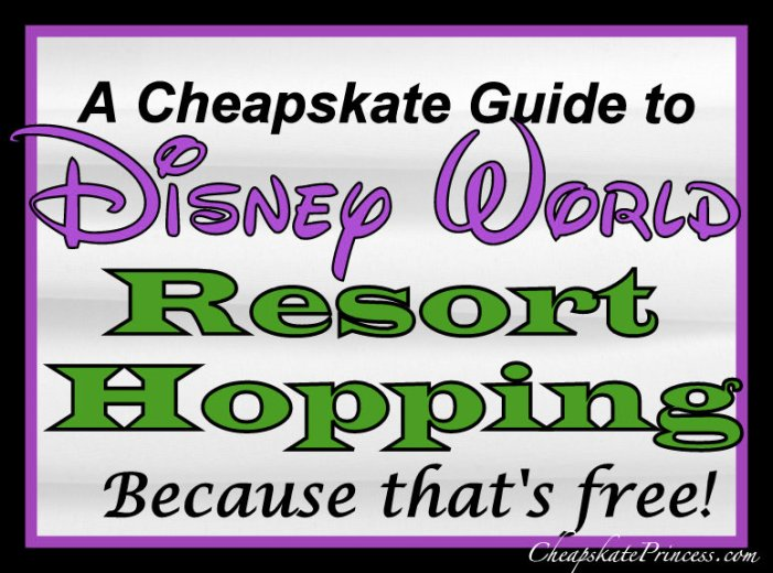 Guide to Disney Resort Pool hopping