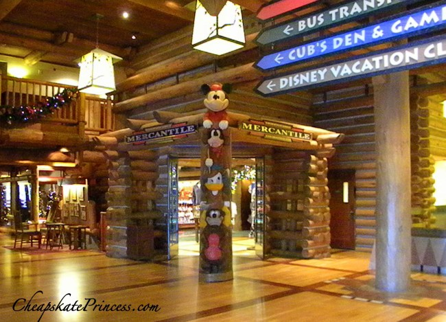 Wilderness Lodge gift shop where to shop at Disney World