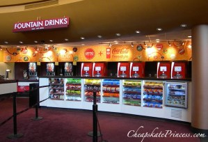 snack bar, snack bar at Disney, Disney World movie theater, snacks at movie, can you bring snacks into a movie, boycott movies, why are movies so expensive
