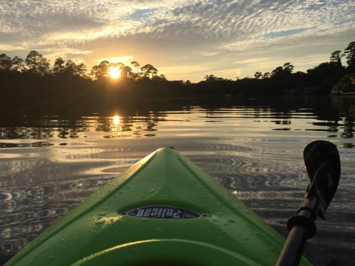 Magnolia Springs kayaking