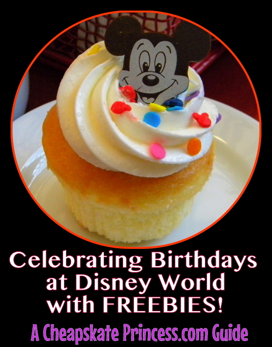 how to get free birthday stuff at Disney World