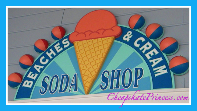 Beaches and Cream Soda Shop, what is Disney's Kitchen Sink, the best Disney dessert, Disney ice cream