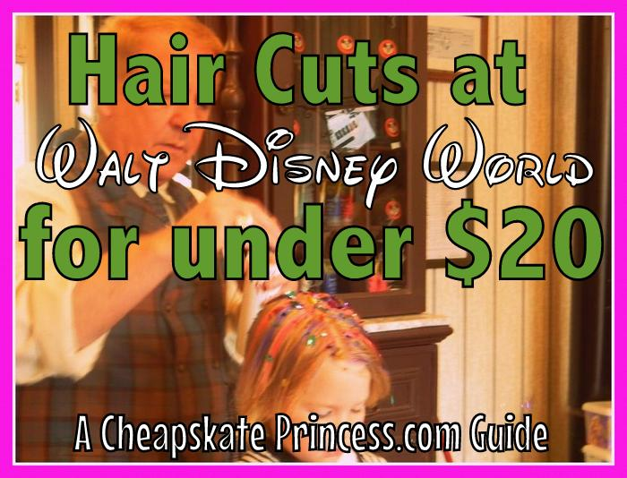 price of hair cuts at Harmony Barber shop Disney World