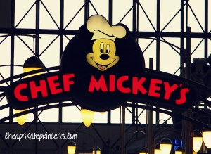Chef Mickey's sign, Disney buffet, Disney restaurant, I love Disney food,