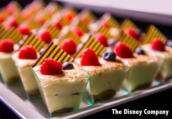 mini desserts at Disney World Wishes Fireworks Dessert Party