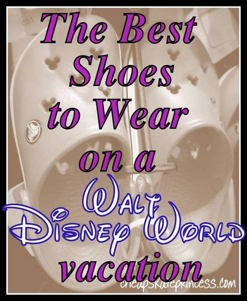 best shoes to wear on a Disney vacation