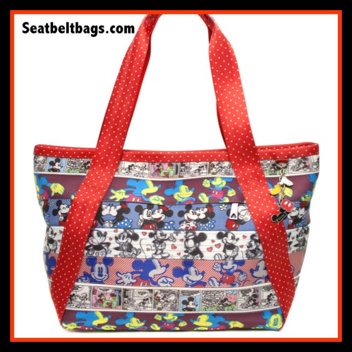 Harveys Disney patchwork seatbelt purse