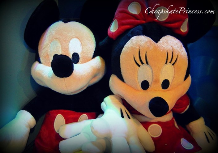 Mickey and Minnie dolls