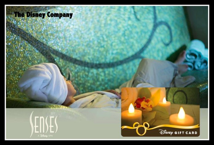 Disney Gift Cards, Spa Gift cards