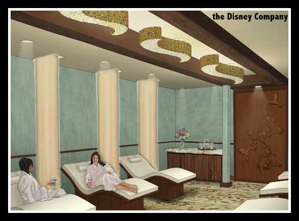 Disney spa services