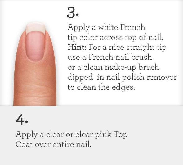How to do your own french manicure