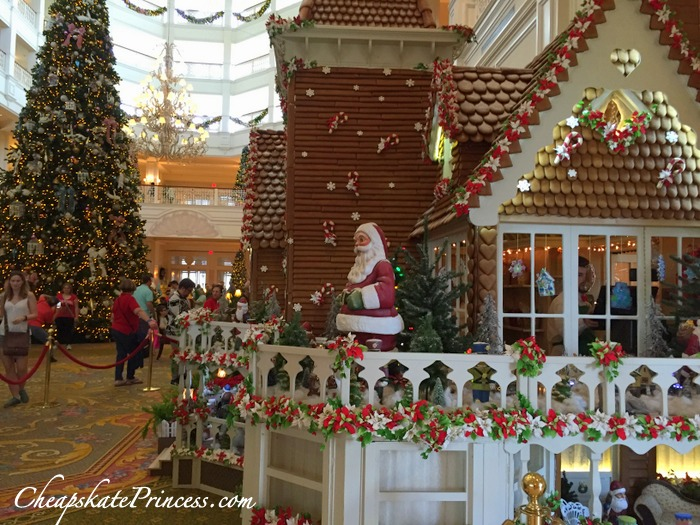 Disney World Grand Floridian at Christmas