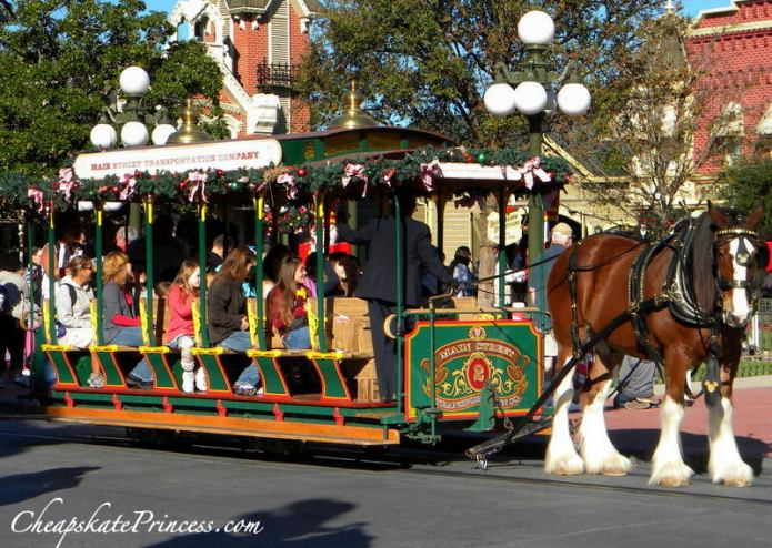 Disney Transportation on Main Street