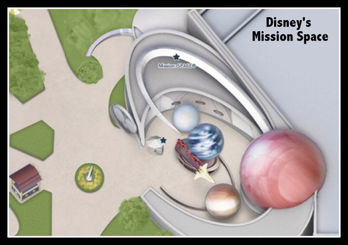 Google Map of Disney Mission Space