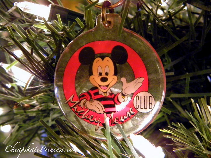 vintage Mickey Mouse Club keychain