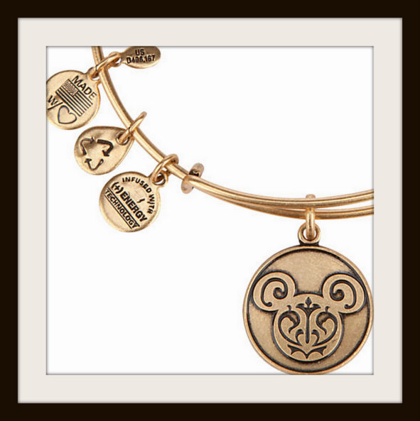 Alex and Ani Mickey Mouse Filigree bangle bracelet