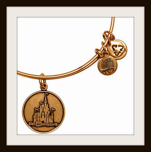 Alex and Ani Walt Disney World bangle bracelet