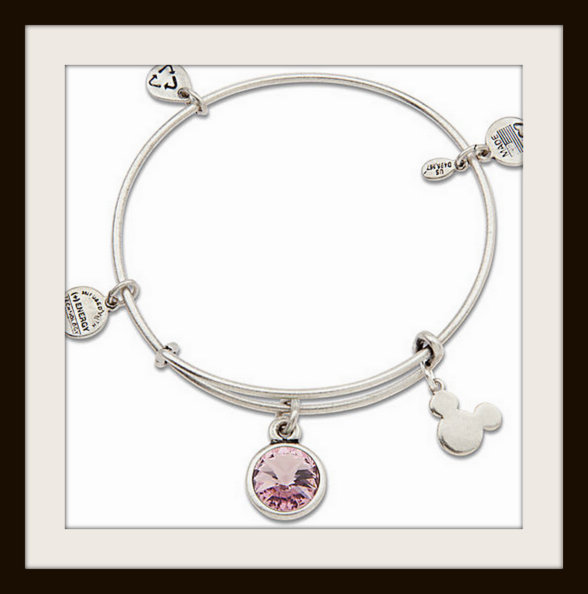 Disney World birth stone bracelet