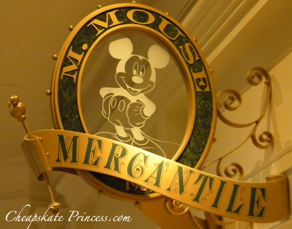 M. Mouse Merchantile at the Grand Floridian Resort and Spa