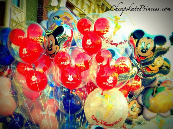 Disney World balloons
