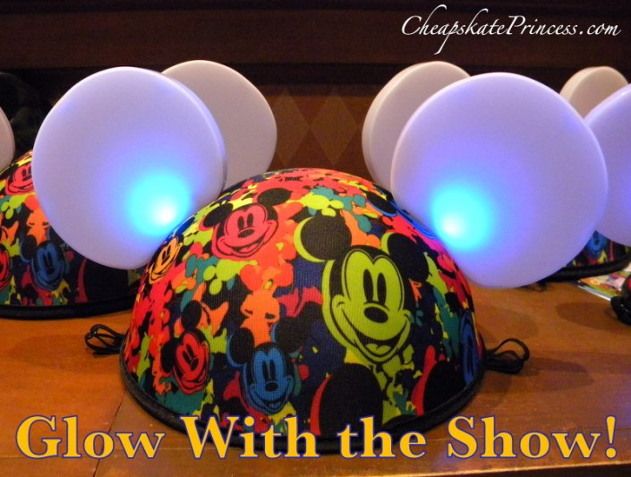 Glow with the Show Disney World hats