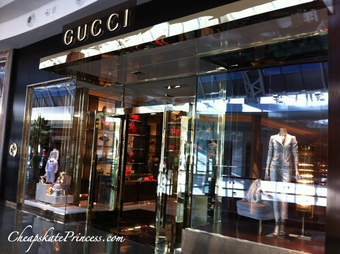 Gucci Rolex stores in Orlando mall