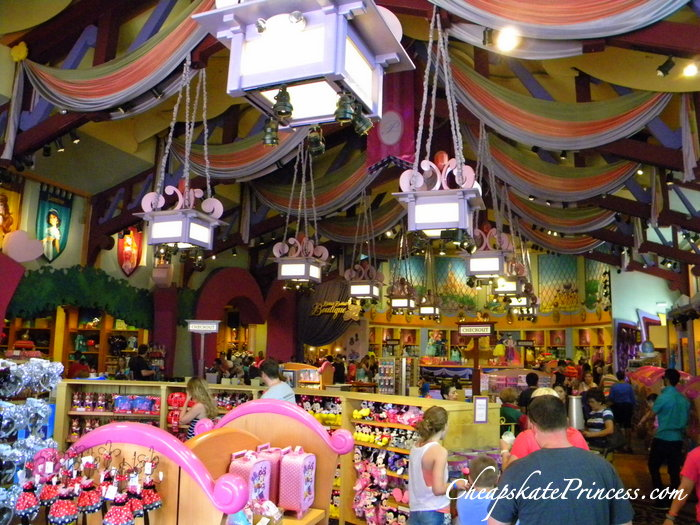 shopping at World of Disney at Downtown Disney