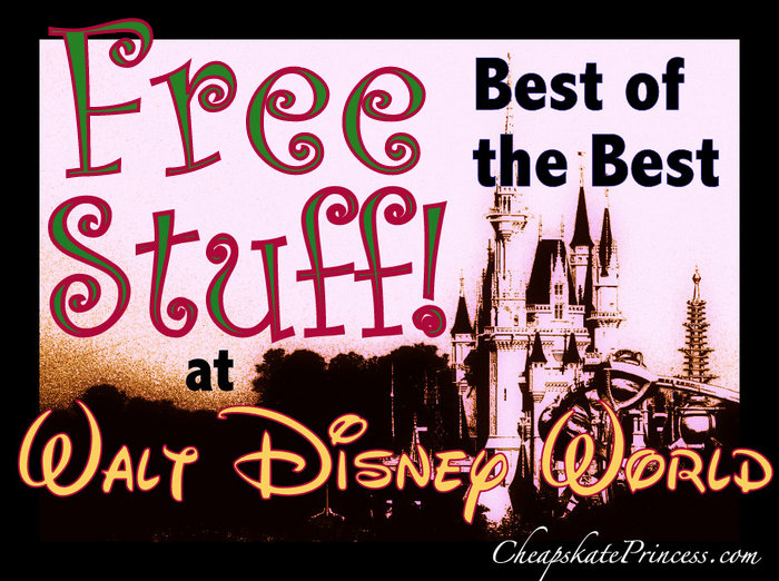 Best of the Best Free Stuff at Disney World