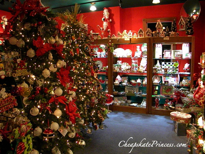 Christmas shopping at Disney's Celebration