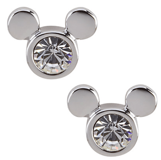 Mickey Mouse Icon Stud Earrings