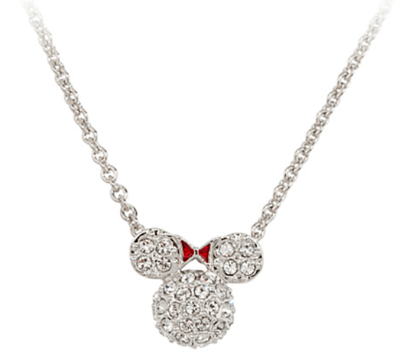 Minnie Mouse Domed Icon Necklace