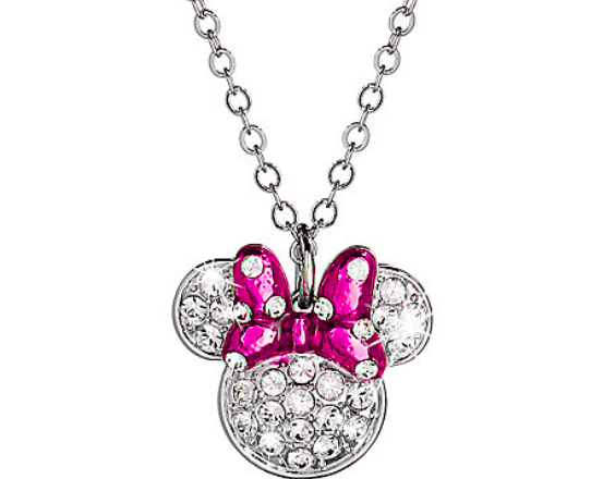 Minnie Mouse Icon Bow Necklace