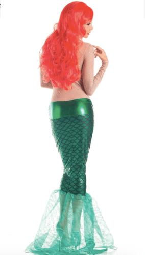 Ariel Disney World party costume for Halloween