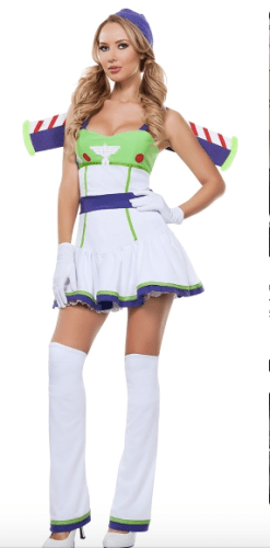 Buzz Lightyear womens Disney World party costume