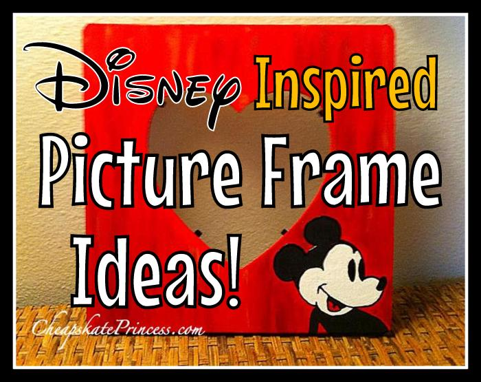 Mickey Mouse picture frame craft copy