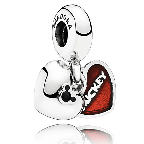 Mickey and Minnie Mouse Pandora jewelry