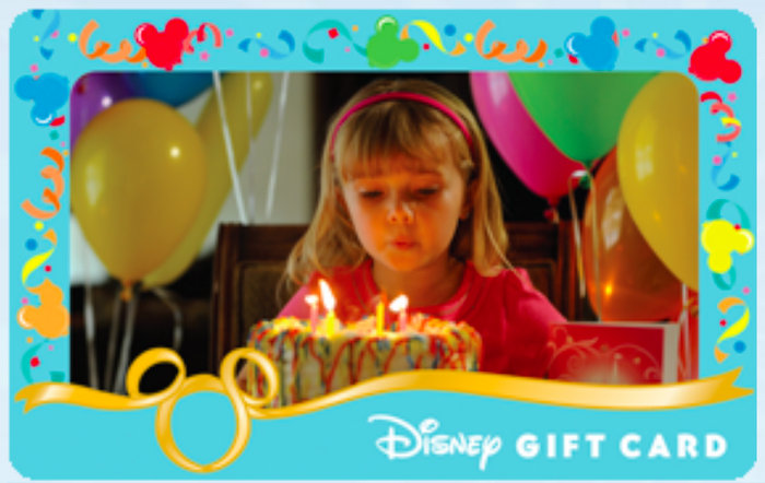 How to Personalize a Disney Gift Card