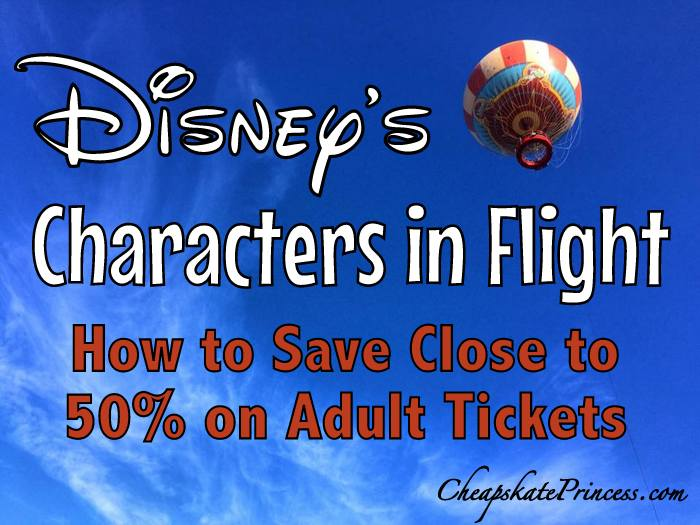 save money on Characters in Flight at Disney Springs