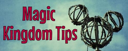 Magic Kingdom tips for kids and tollders
