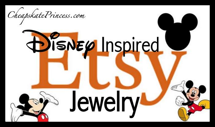 where to find Disney jewelry on Etsy