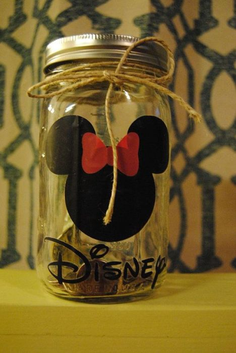 Disney World change jar