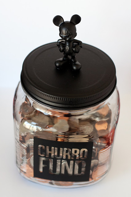 Disney World savings jar