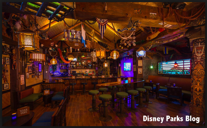 Trader Sam's Orlando Disney World menu